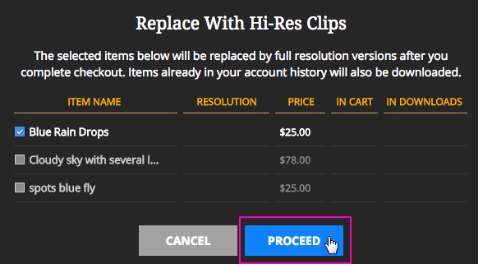 How Do I Replace Low Res Files With High Res Files? – Help Center